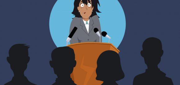 Zo gaan ervaren sprekers om met spreekangst