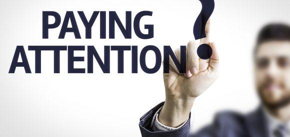 De worsteling om aandacht vast te houden