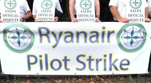 Duitse piloten Ryanair kondigen staking aan