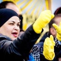 Rechtszaak FNV tegen schoonmaakapp Helpling