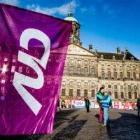 375.000 FNV-leden stemden over pensioen