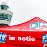 Vakbond dreigt met acties bij facilitaire dienst KLM