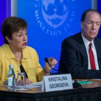 IMF: herstel economie afhankelijk van tot staan brengen virus