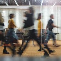 Tijdens reorganisatie gaan 'verkeerde' werknemers harder werken