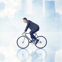 Vaker op de fiets naar kantoor